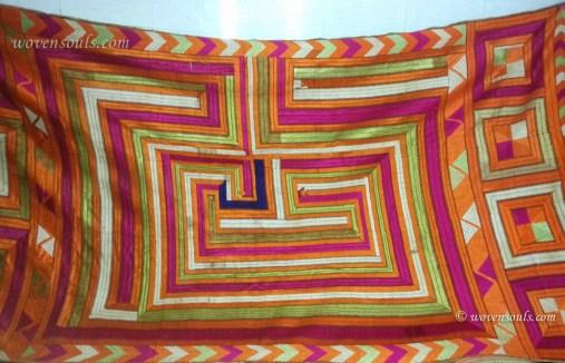 Very Rare Old Bhool Bhulaiya Bagh Phulkari textile
