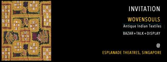 WOVENSOULS BAZAR SHOP AT THE THE ESPLANADE