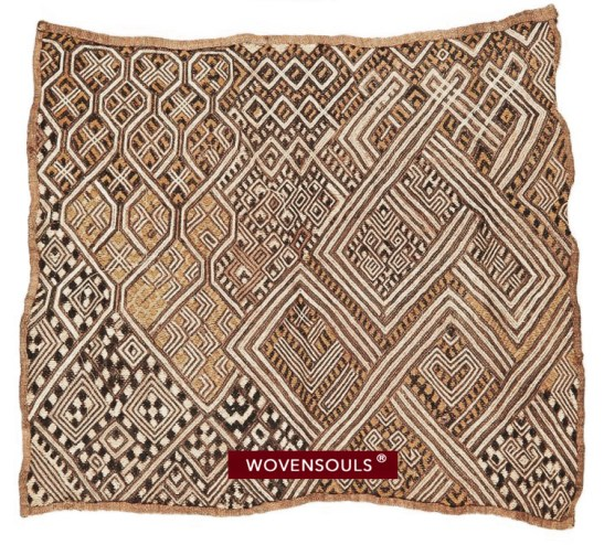 antique kuba cloth currency africa