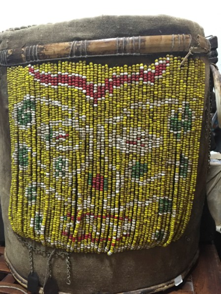 ANTIQUE BEADED DAYAK BABY CARRIER BORNEO