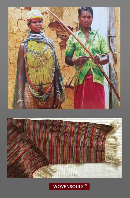 Bonda Tribe Woven Textile
