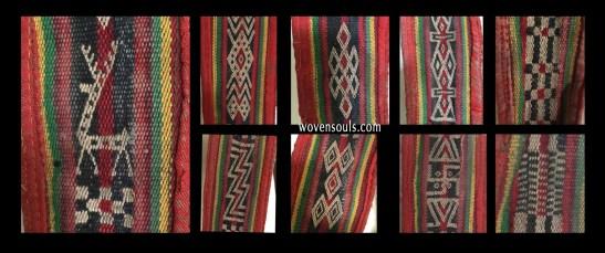 Motifs from Handwoven Tibetan belt