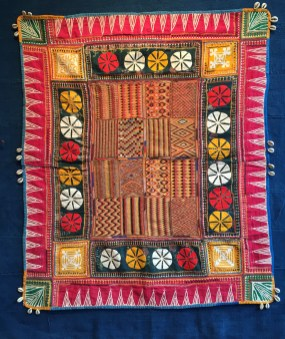 antique banjara textiles - joss graham exhibition