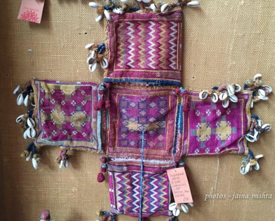 antique banjara textiles - joss graham exhibition