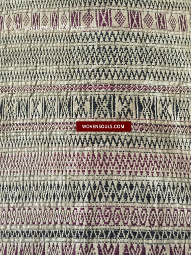 Antique Batak Shaman's headcloth Texile Weaving