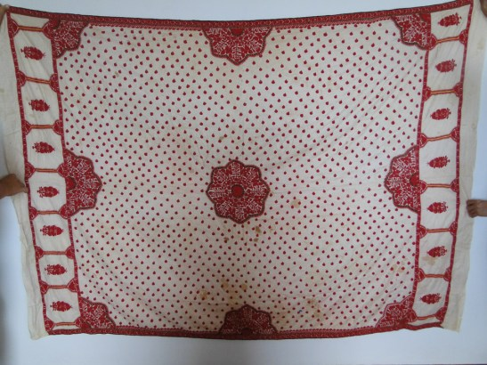 ATI-608 Vintage Sindhi Shawl Odhana