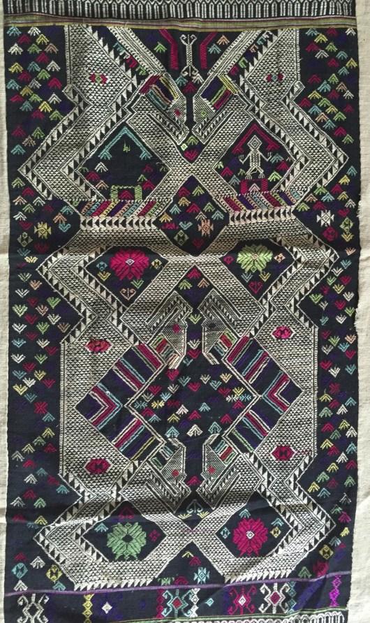 vintage laotian laos weaving textile for sale