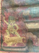 Antique Buddhist Monastery Thangka from Mongolia or Tibet pre 17th century or earlier