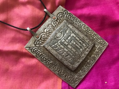 ANTIQUE HIMALAYAN LADAKH ORNAMENT JEWELRY
