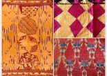 Note on Antique Phulkari Textile Art Punjab by Jaina Mishra
