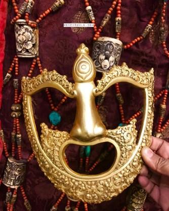 Himalayan Buddhist Monk's Mask for Royal Ceremonies - Rare Artefact