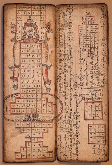1126 Burmese Manuscript