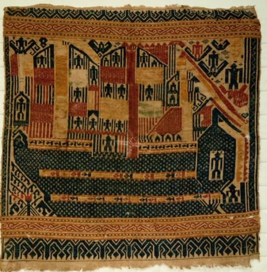 521 Antique Tampan Ship Cloth