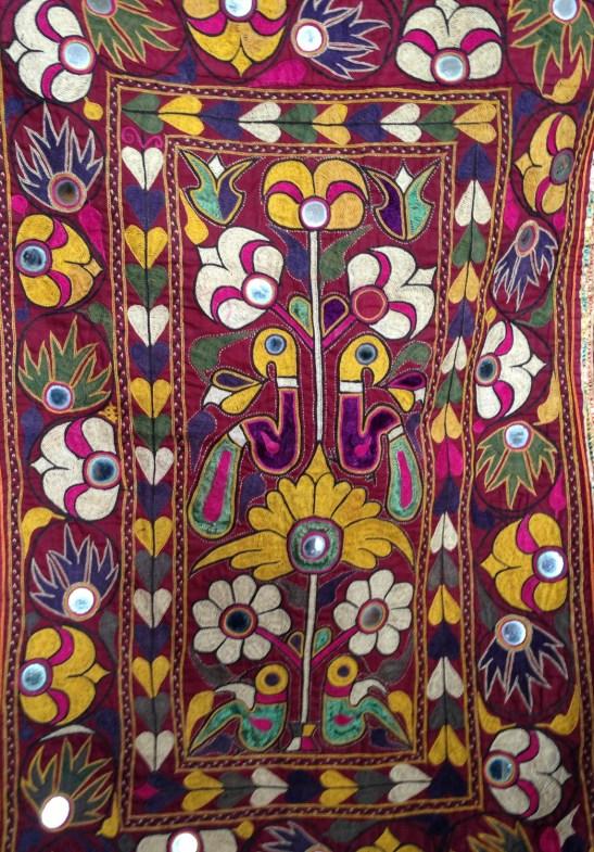 727 Vintage Gujarat Embroidery Panel