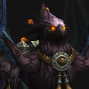 Pandaren phoenix mount (purple)