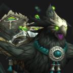 Pandaren phoenix mount (green)