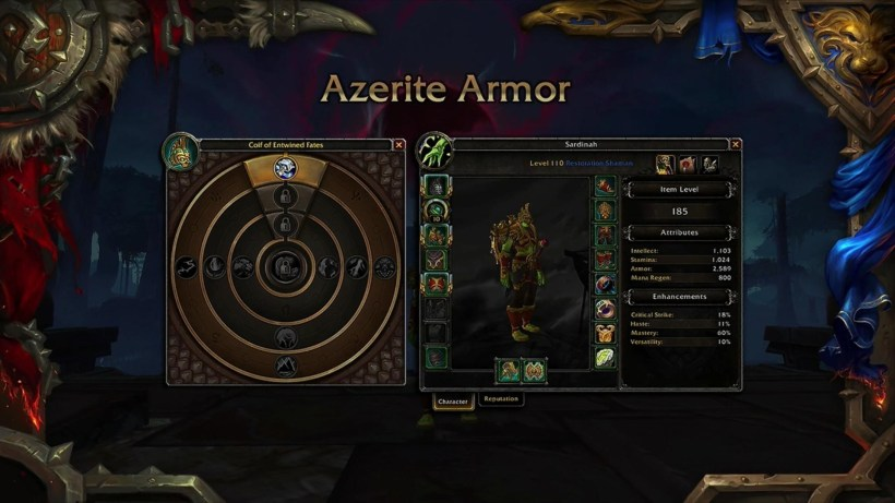 Image result for world of warcraft battle for azeroth heart of azeroth