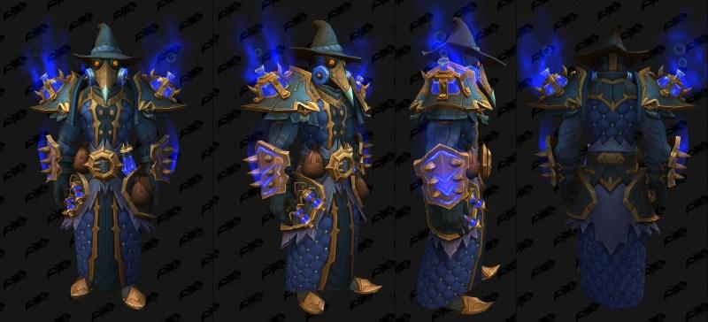 Cloth Castle Nathria Shadowlands Raid Armor Set 06