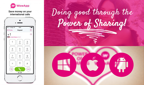 Doing good through the Power of sharing