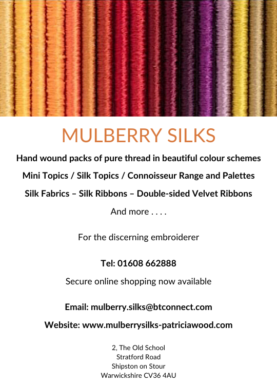 Mulberry Silks advert