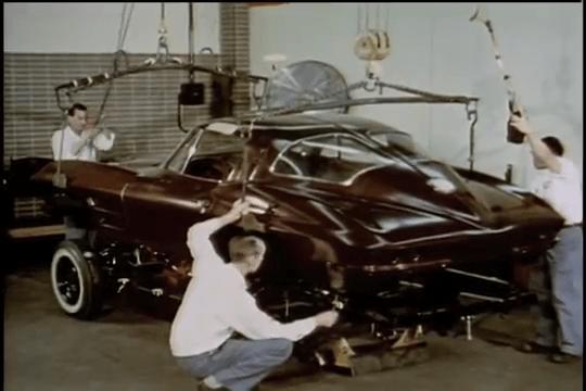 1963 Chevrolet Corvette Sting Ray - Body