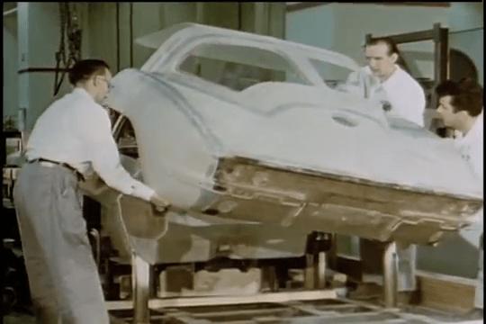 1963 Corvette Sting Ray Rear Body