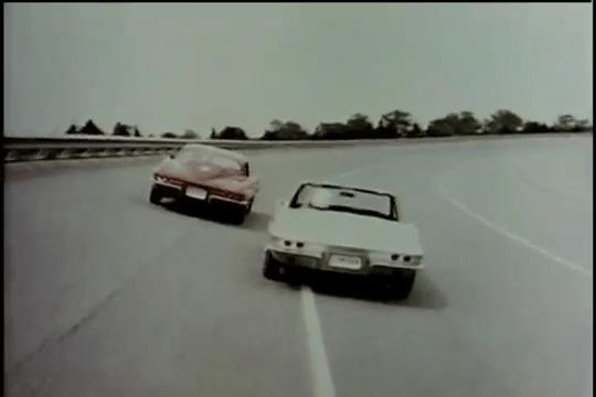 1963 Chevrolet Corvette Sting Ray - General Motors Test Track
