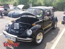 Black VW Bug