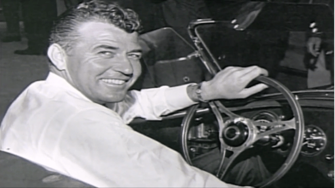 Carroll Shelby in the - Cobra