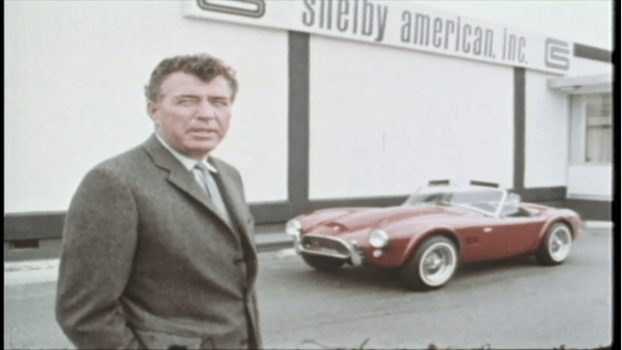 Carroll Shelby and the - Cobra