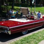 Chevy Impala Convertible -Side