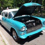 Chevy Bel Air Blue