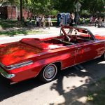 Convertible Red Buick