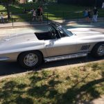 Side 1964 Corvette Sting Ray Convertible