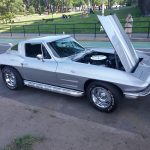 Side 1964 Corvette Sting Ray Silver