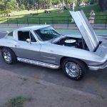 Side 1964 Corvette Sting Ray Silver