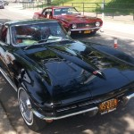 Black Chevy Corvette Sting Ray