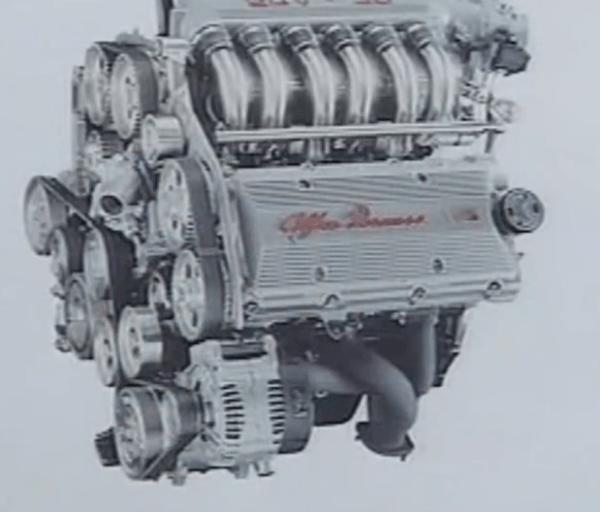 V6 Engine Alfa Romeo