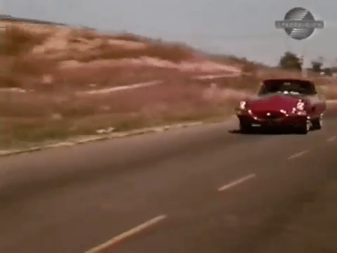 On Race Track - 1968 Jaguar XKE Road Test