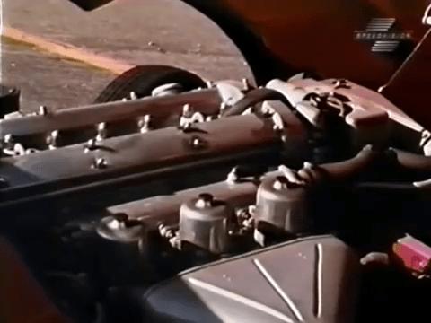 Engine - 1968 Jaguar XKE Road Test