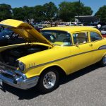 1957 Chevy Yellow