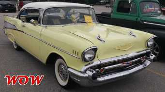 1957 Chevrolet Bel Air Yellow