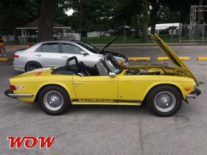 Yellow Triumph Right Side