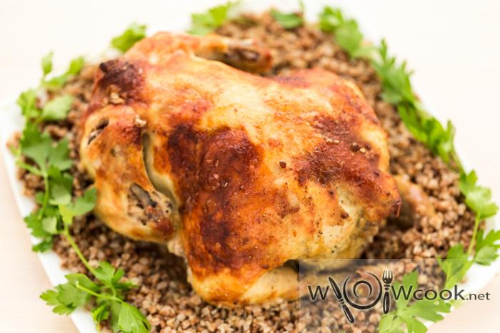 Ingredientes inteiros de frango