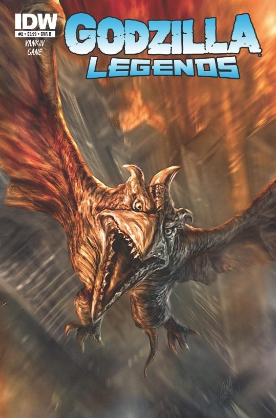 Simon Gane Draws Rodan – Godzilla Legends #2