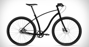 BUDNITZ NO.3 PITCH BLACK BICYCLE