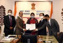 Textiles Committee, Ministry of Textiles signs MoUwith M/s Nissenken Quality Evaluation Centre, Japan to boost export of Textile and Apparel to Japanese market