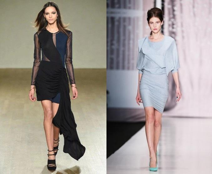 72584bc737e Офисный стиль зима. Про модные материалы офисных платьев. Деловые ...