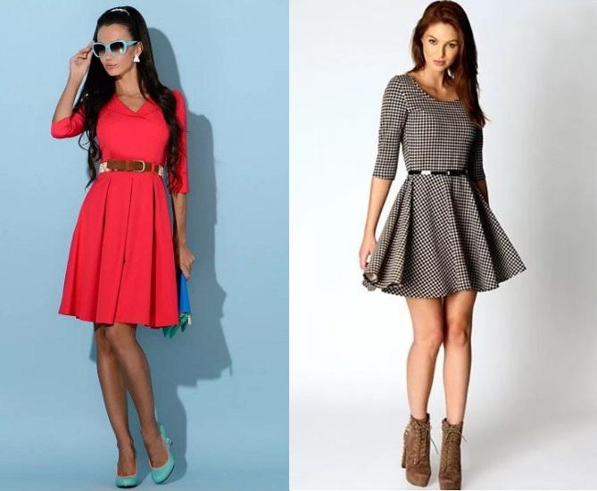 7ff9549b063 Офисный стиль зима. Про модные материалы офисных платьев. Деловые ...