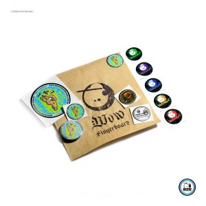 Adesivo Pack Wow Hand